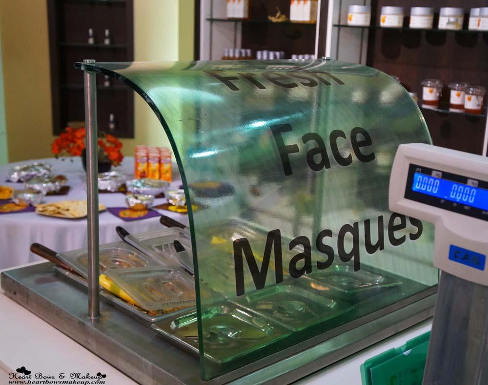 Iraya Fresh Face Masques