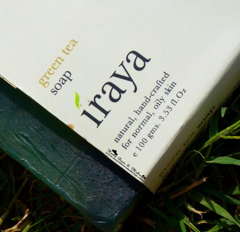 Iraya Green Tea Soap