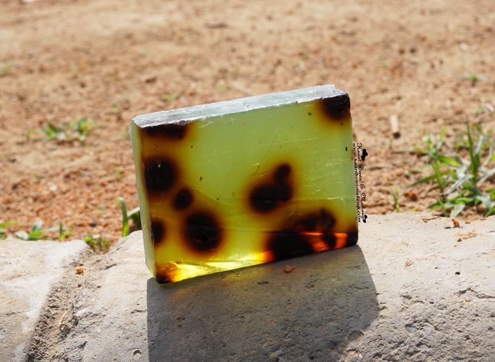 Iraya Green Tea Soap Review