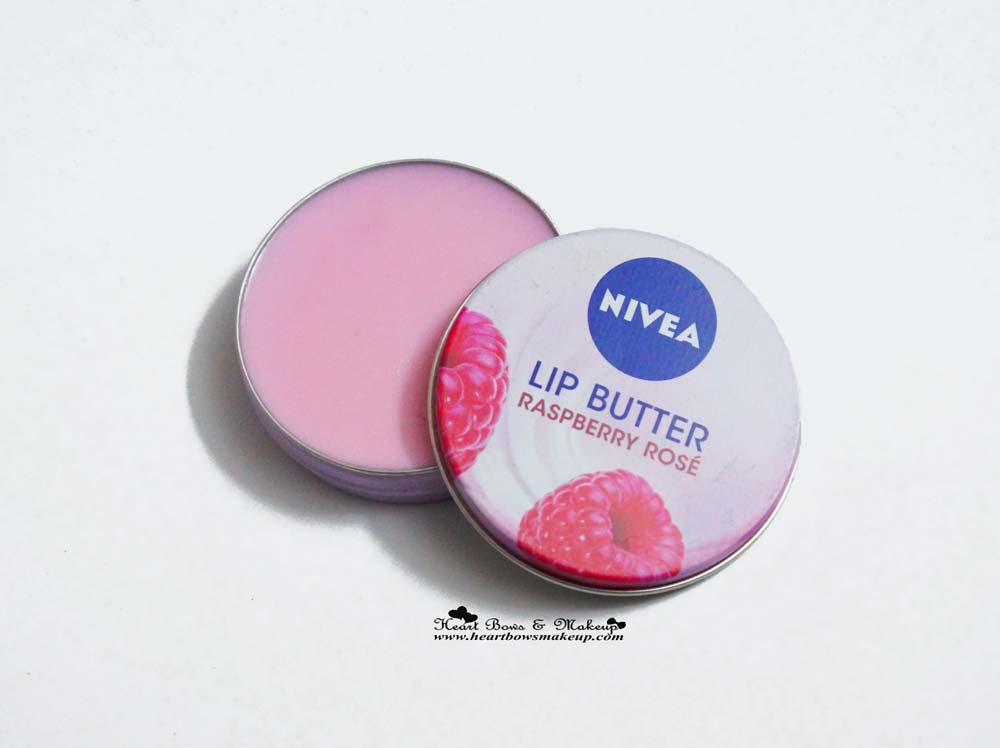 Nivea Lip Butter Review: Raspberry Rose