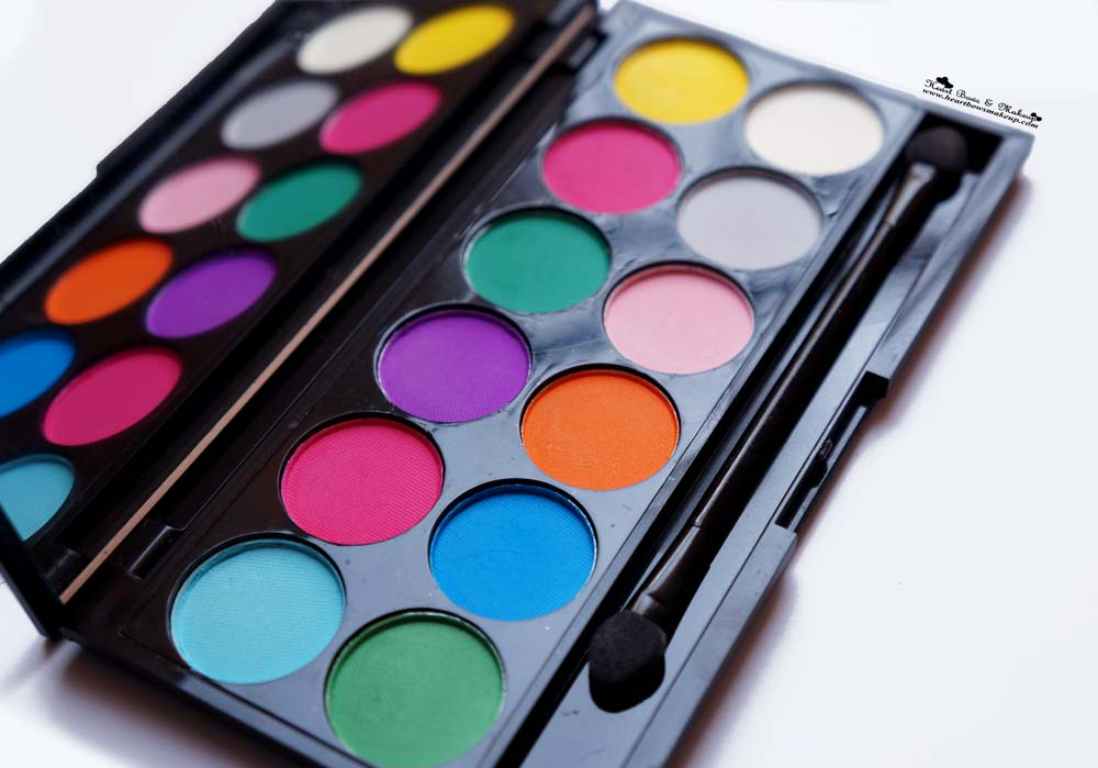 Sleek Ultra Mattes V1 Brights Eyeshadow Palette Review