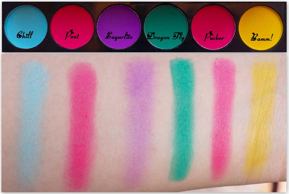 Sleek Ultra Mattes V1 Brights Palette Swatches & Review
