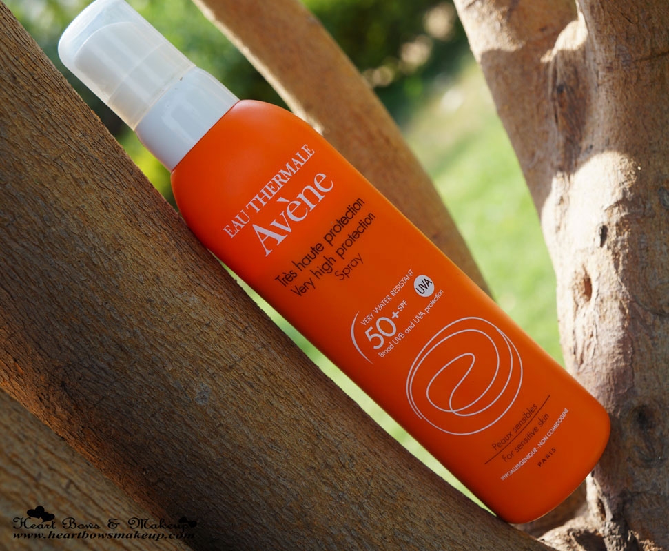 Avene Very High Protection Spray Sunscreen SPF 50 Review