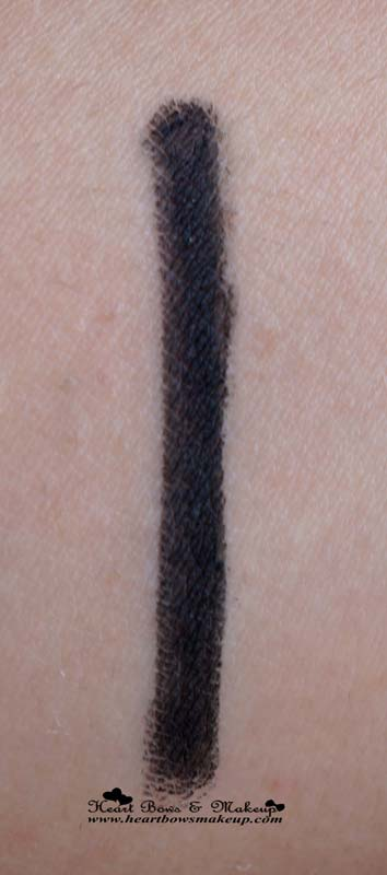 Bobbi Brown Perfectly Defined Gel Eyeliner Pitch Black Swatch & Review