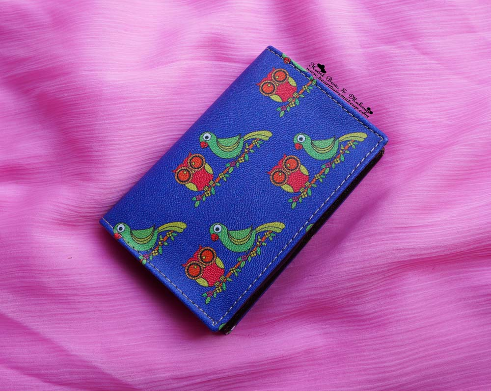 India Circus Review & Haul: Funky Owl & Parrot Visiting Card Pouch
