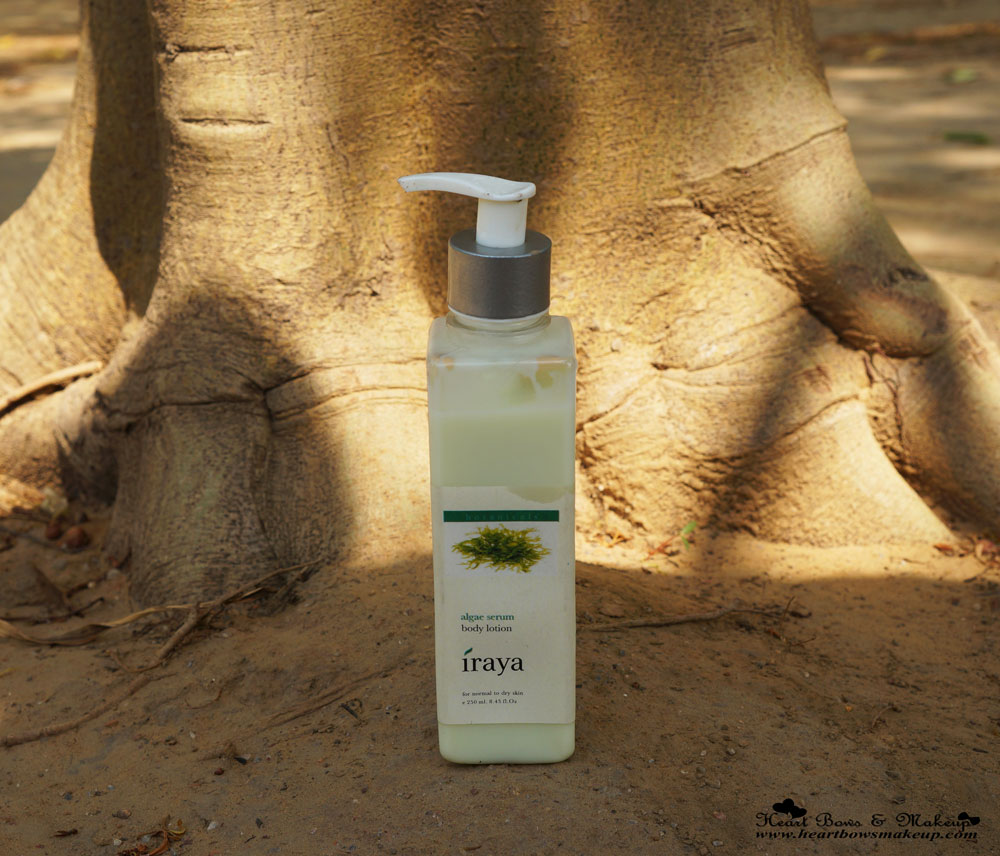 Iraya Algae Serum Body Lotion Review