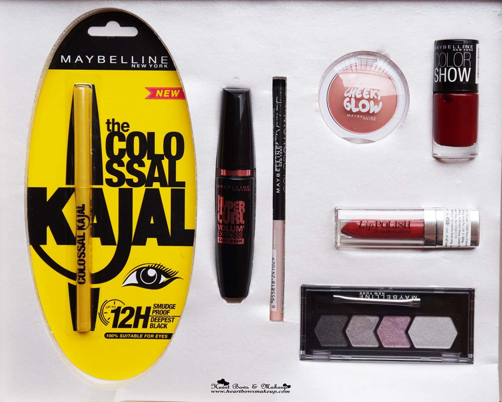 Maybelline InstaGlam Box Wedding Edition Review, Products & Buy Online in India
