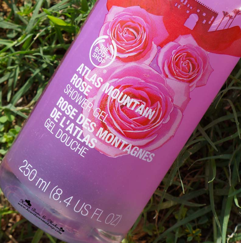 The Body Shop Atlas Mountain Rose Shower Gel Review