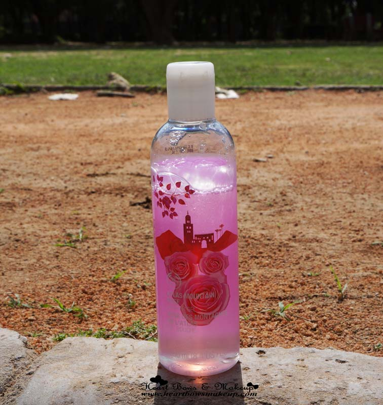 The Body Shop Atlas Mountain Rose Shower Gel Review, Price & Buy Online in India
