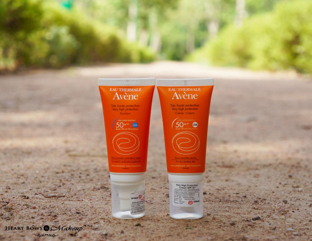 Avene Very High Protection Emulsion & Cream SPF 50+ Review