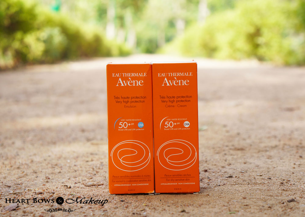 Avene Very High Protection SPF 50+ Emulsion & Cream Review, Price & Buy Online India