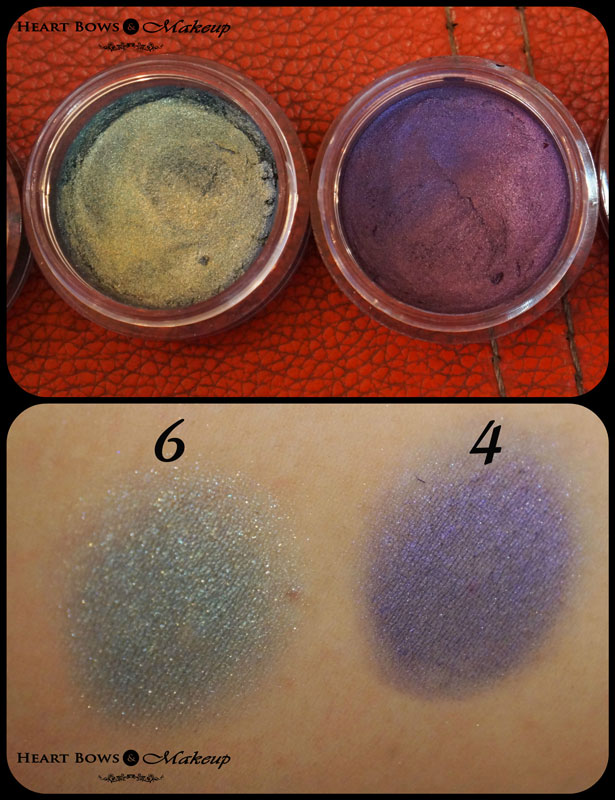 Deborah Milano 2 in 1 Long Lasting Cream Eyeshadow With Primer 6 & 4 Review & Swatches
