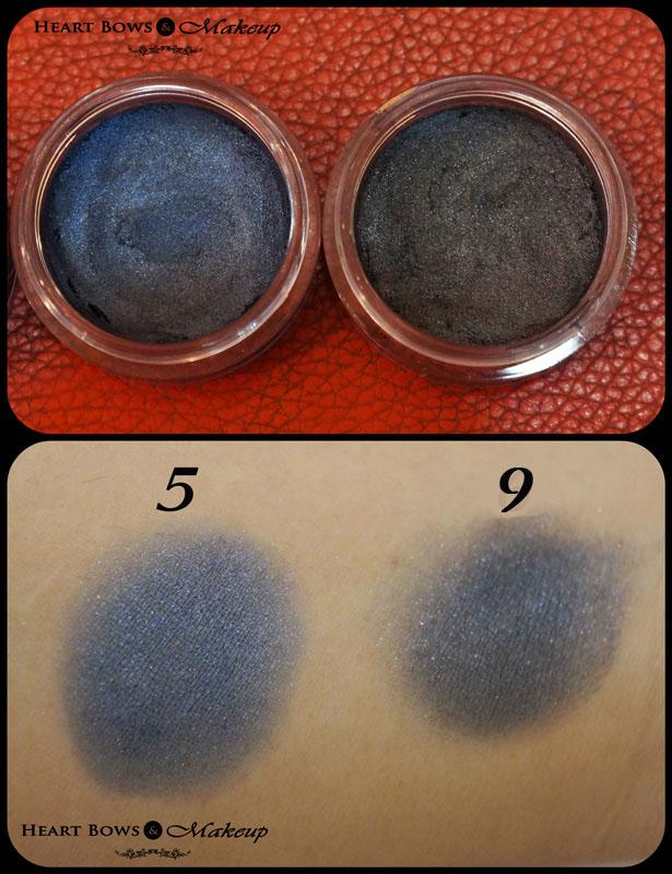Deborah Milano 2 in 1 Long Lasting Eyeshadow With Primer 5 & 9 Review & Swatch