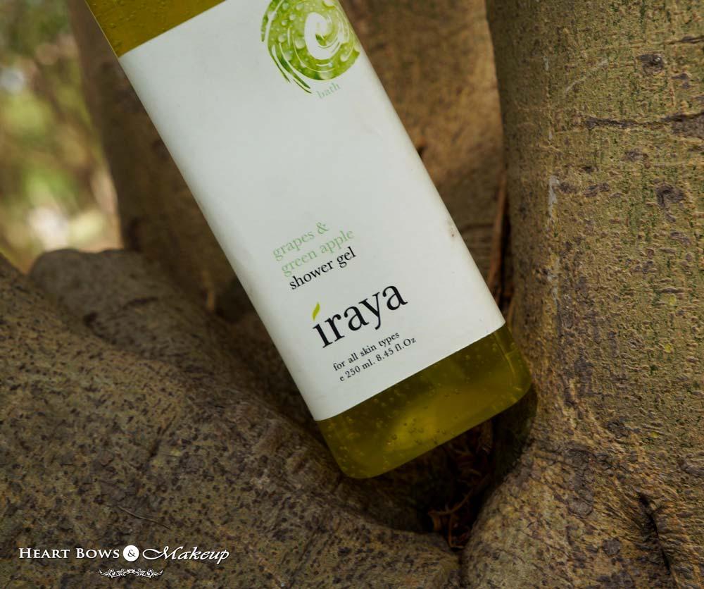 Iraya Grape & Green Apple Shower Gel Review