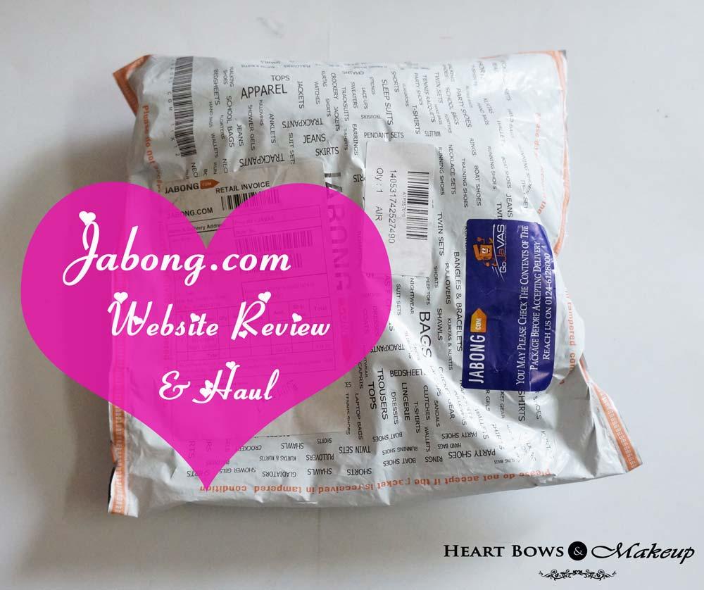 Jabong Website Review & Haul