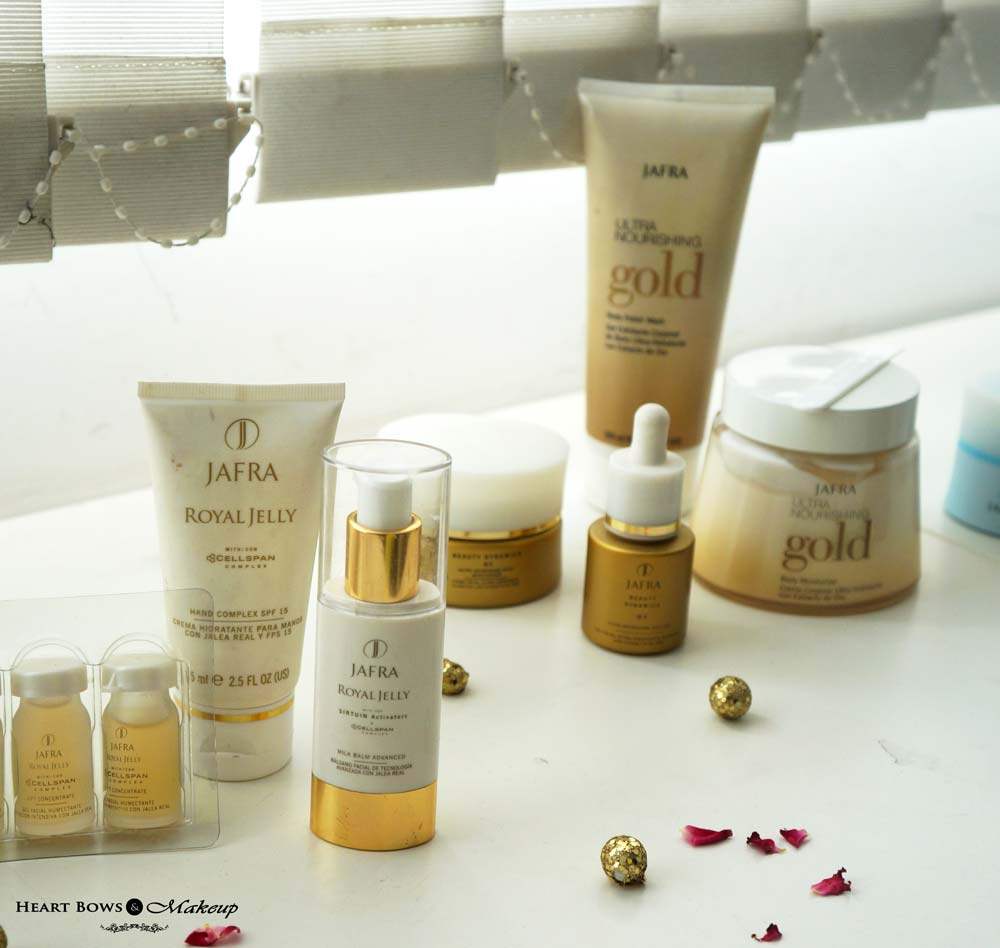 JAFRA Royal Jelly Skincare Range