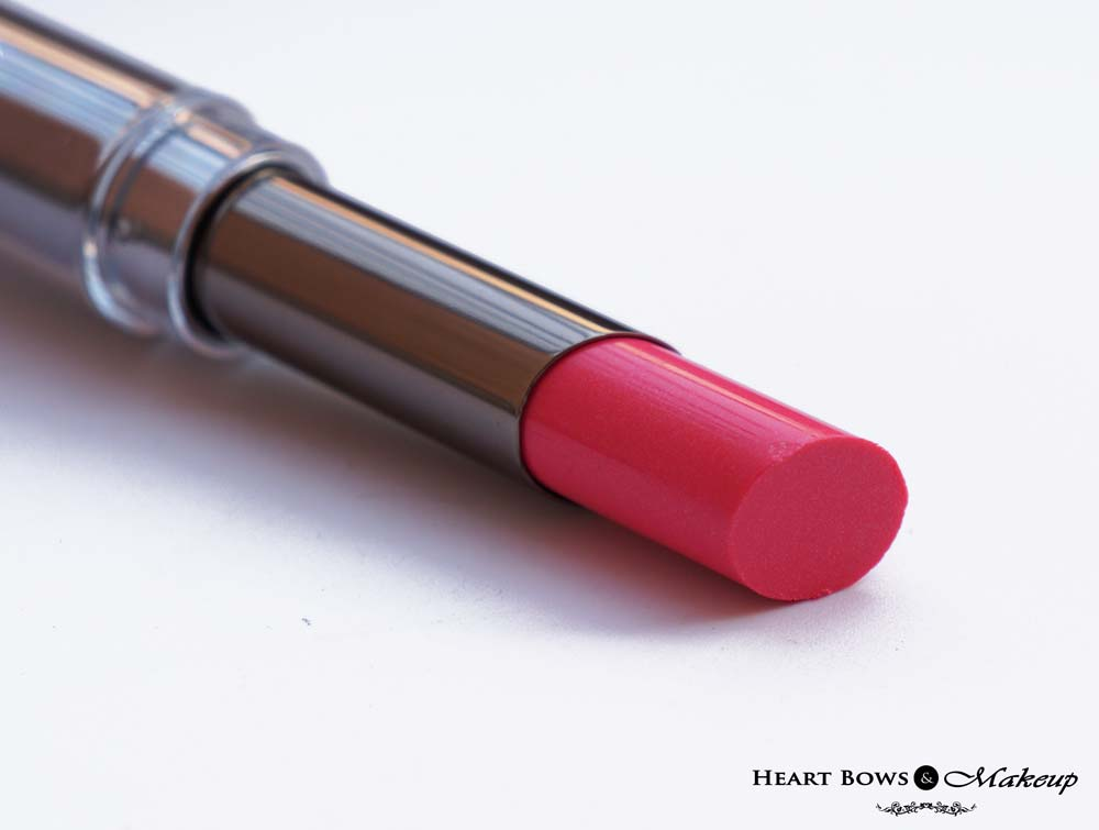 Lakme Gloss Addict Lipstick Pink Temptation Review & Price
