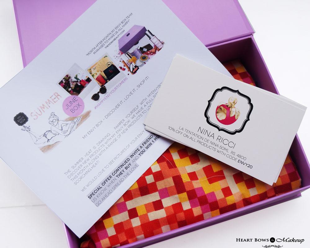June My Envy Box