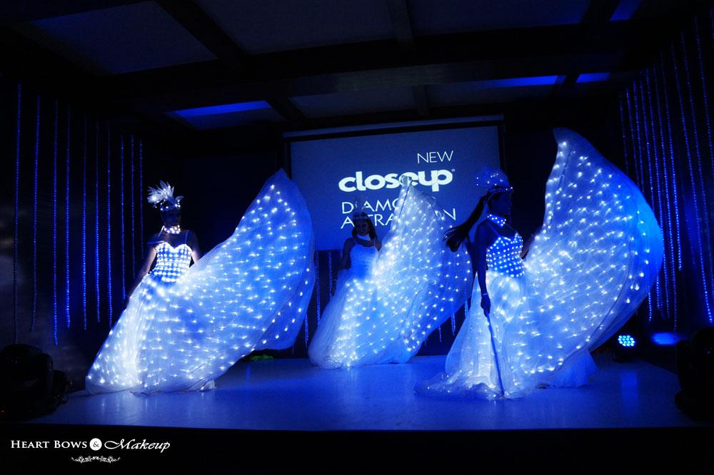 Closeup Diamond Attraction Toothpaste Event, Mumbai