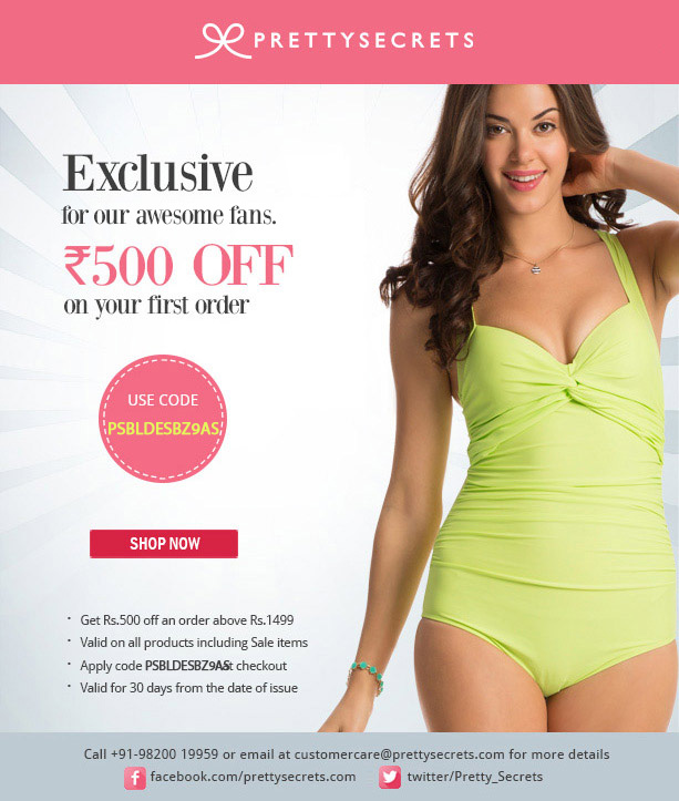 PrettySecrets Discount & Coupon Code