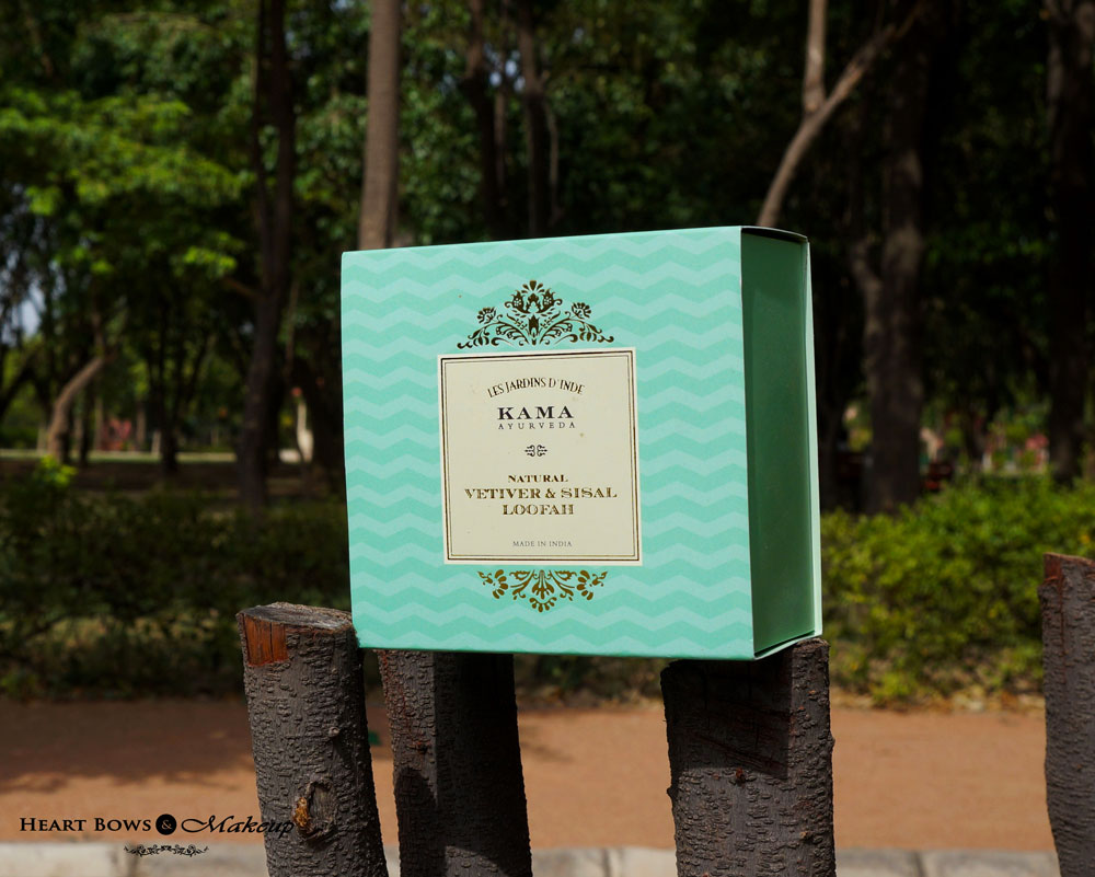 Kama Ayurveda Natural Vetiver & Sisal Loofah Review & Price India