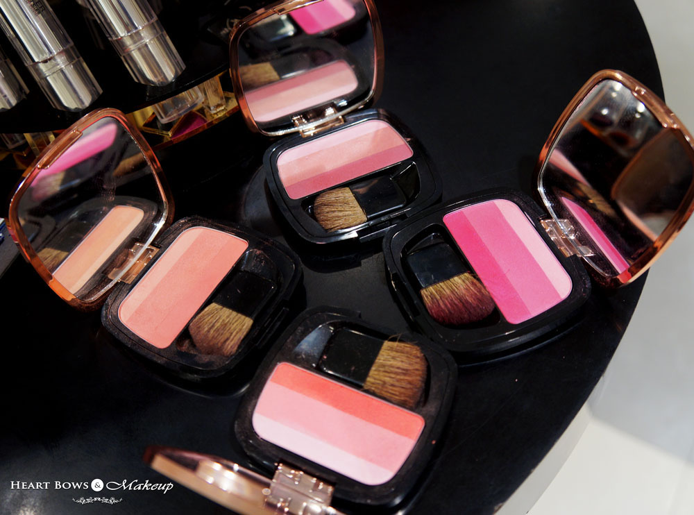 L'Oreal Paris Lucent Magique Blush Palette Swatches, Review & Price India