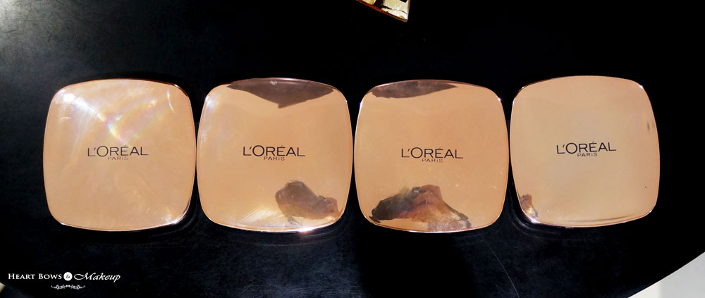 L'Oreal Lucent Magique Blush Of Light Glow Palette Swatches, Review & Price India