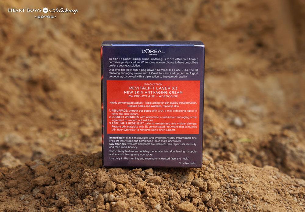 LOreal Revitalift Laser X3 Anti Aging Cream