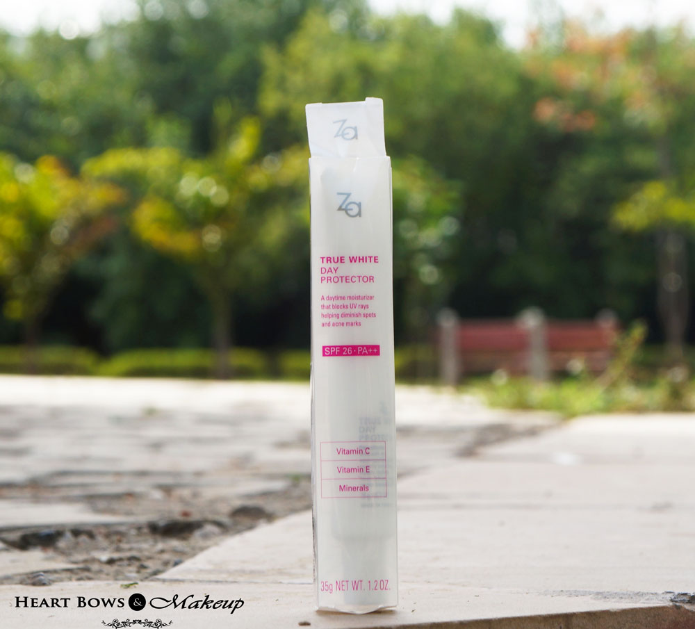 ZA True White Day Protector SPF 26 PA++ Review, Price & Buy Online India