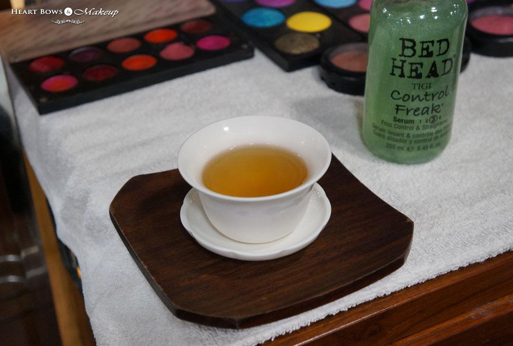 Barley Tea at Alaya Spa & Salon
