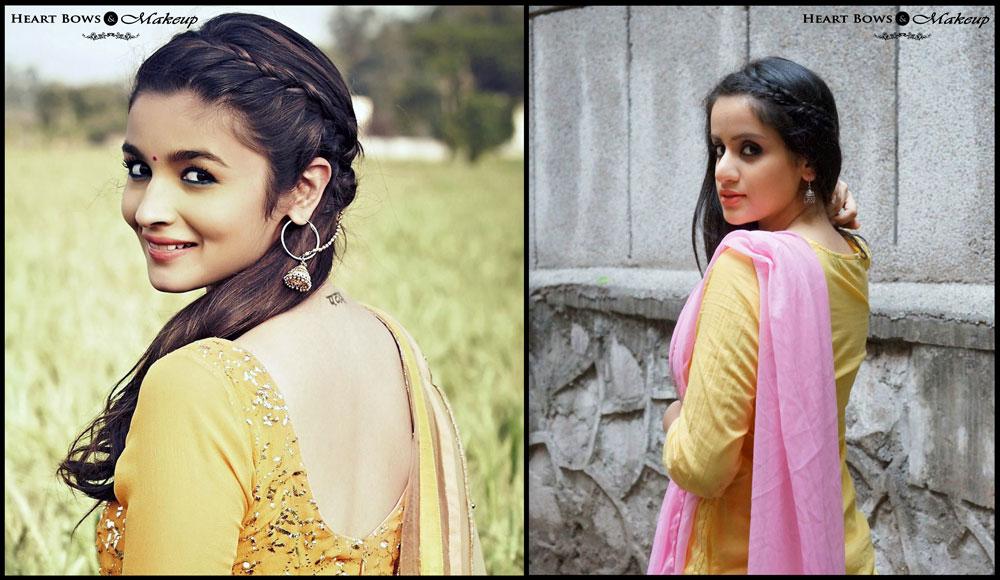 Indian Beauty Blog: Alia Bhatt Makeup Breakdown & Tutorial in Humpty Sharma Ki Dulhania