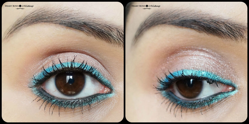 Bourjois Effet Metallise Metallic Eye Pencil Vert Pepite EOTD, Swatch & Review