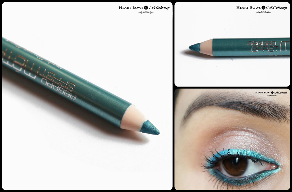 Bourjois Effet Metallise Metallic Eyeliner Vert Pepite Review & Swatches