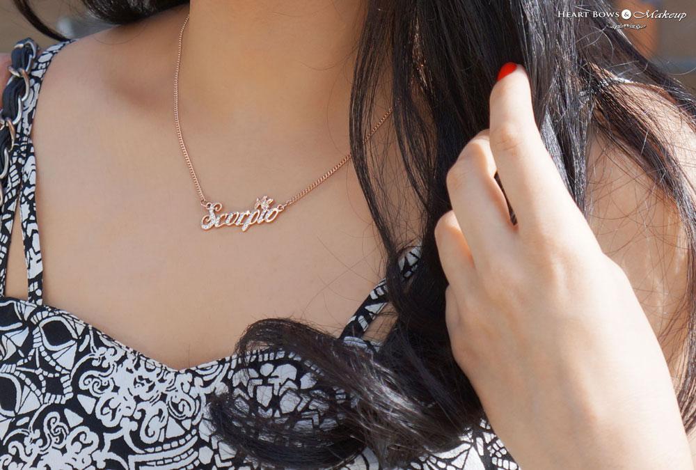 Delhi Fashion Blog: Addons Copper Scorpio Necklace