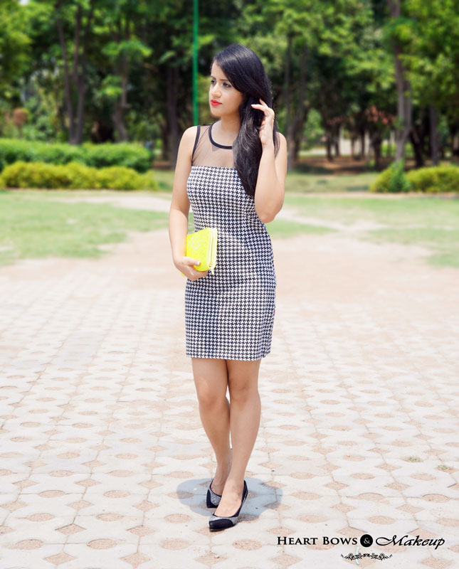 Indian Beauty Blog: OOTD feat Winged Eyes & Bold Red Lips