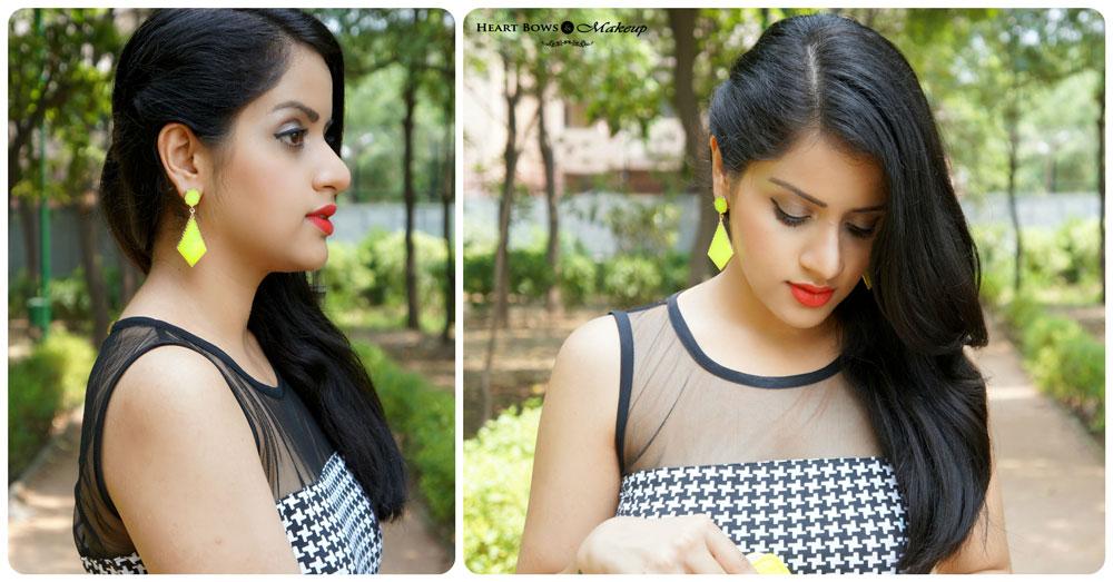 Indian Fashion & Beauty Blog: OOTD- Breaking Monochrome