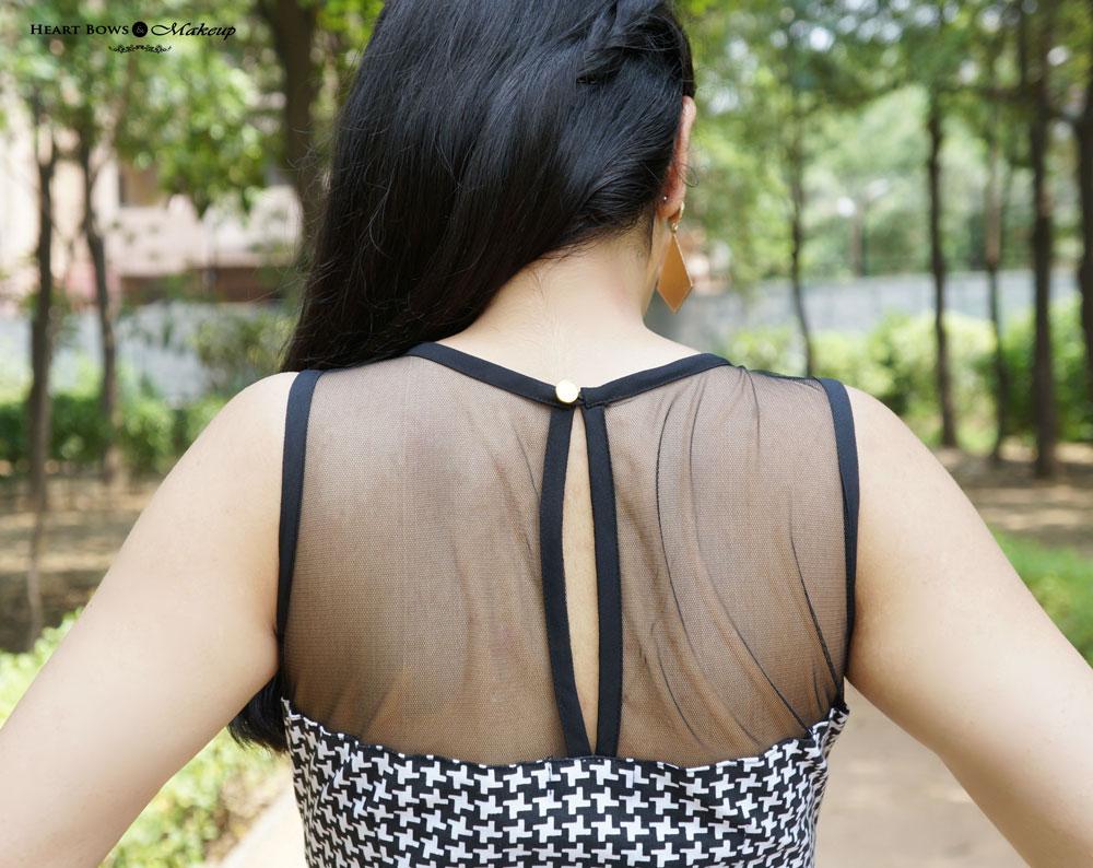 Indian Lifestyle Blog: Mesh Yoke Dress