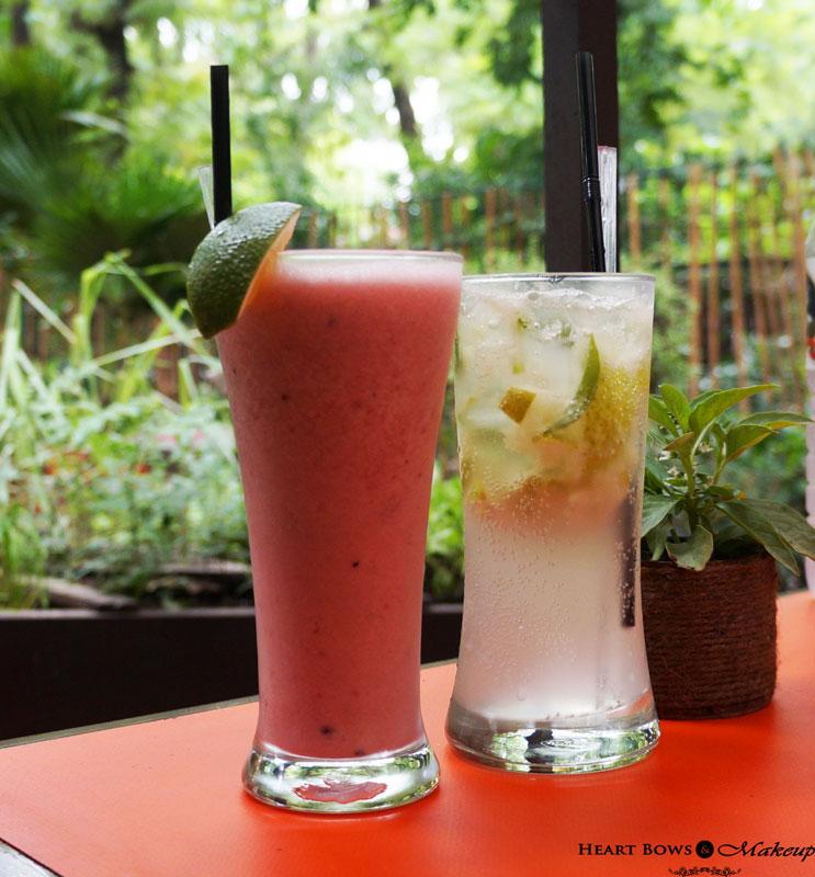 Indian Food Blog: Lodi- The Garden Restaurant Monsoon Festival Review & Drinks