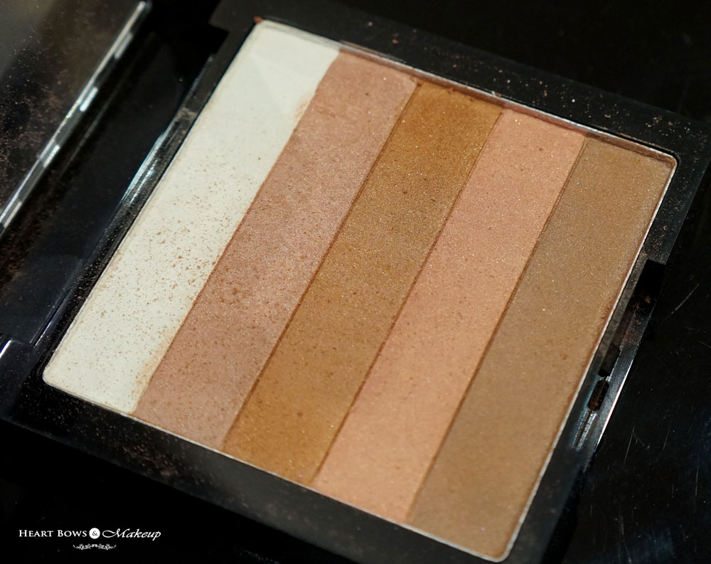 Revlon Highlighting Palette Review, Swatches & Price: Bronze Glow