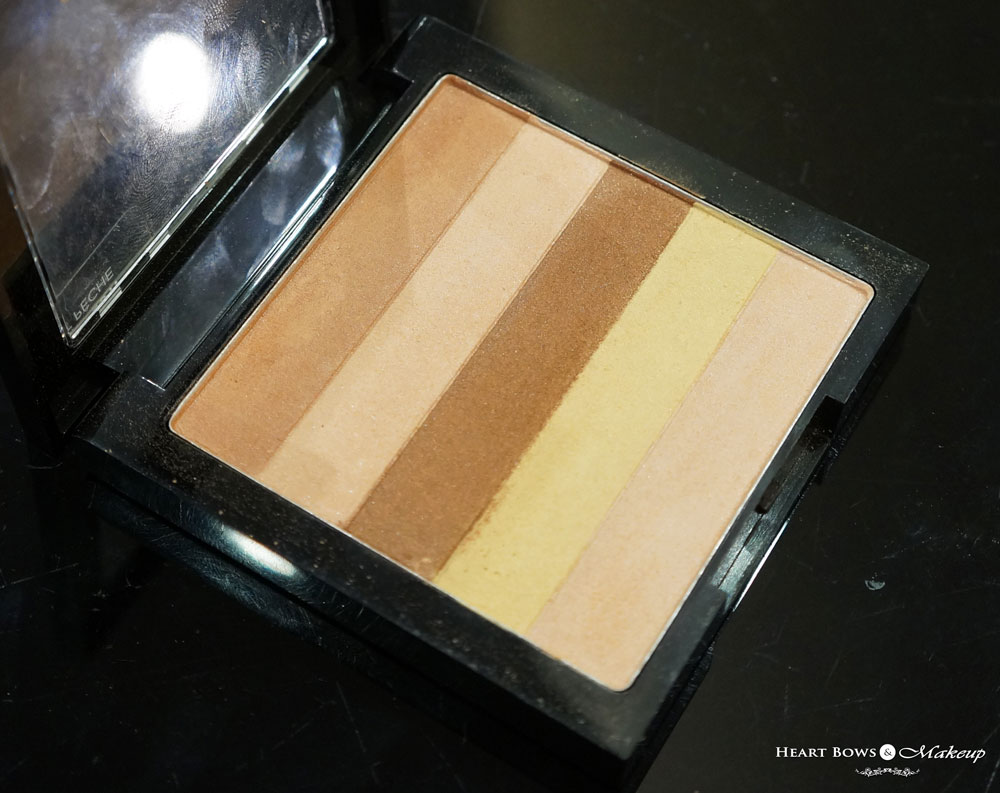 Revlon Highlighting Palette Review, Swatches & Price: Peach Glow