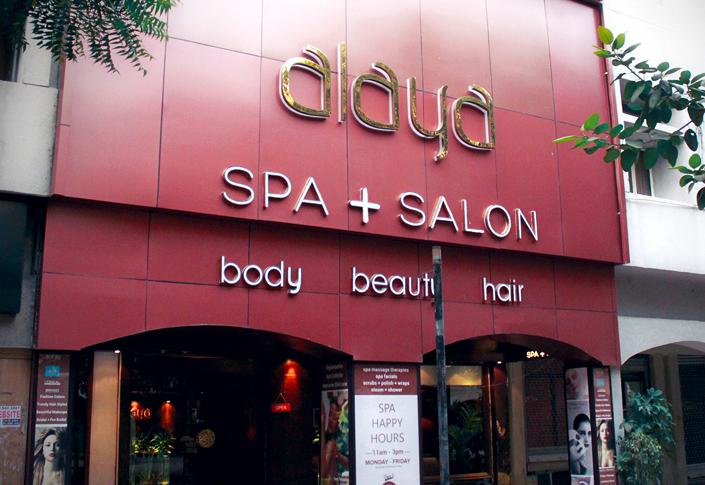 Alaya Spa + Salon, Delhi Review