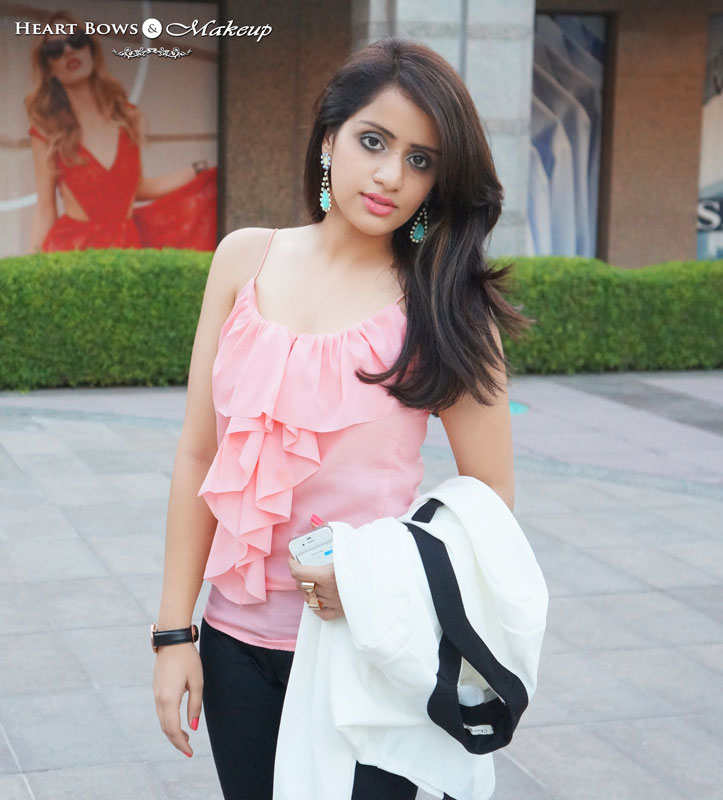 Indian Fashion & Beauty Blog: Outfit Of The Day- Suit Up!