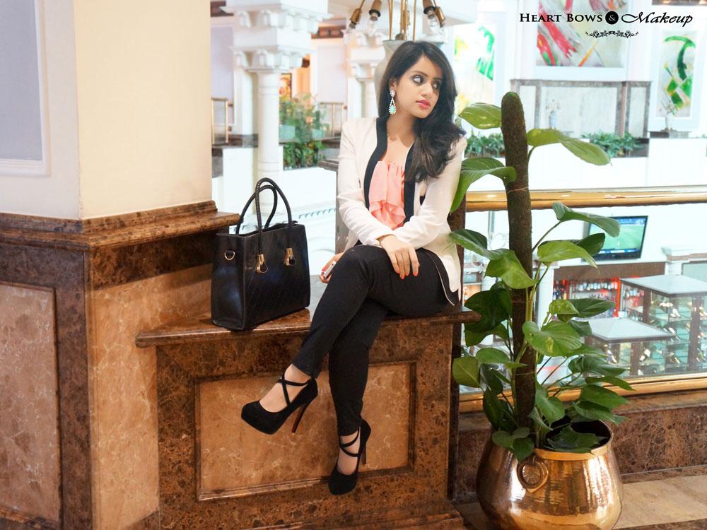 Indian Fashion Blog: OOTD feat H&M, Milanoo, Daniel Wellington & FabAlley