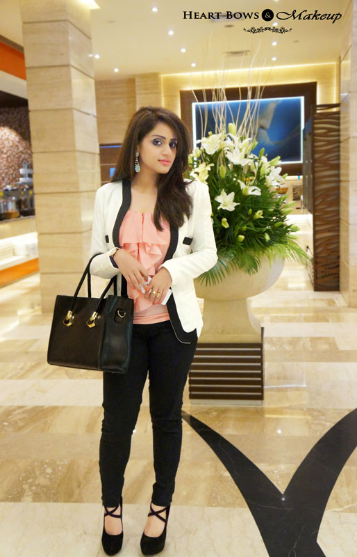 Indian Makeup & Beauty Blog: OOTD- How To Wear Formals Stylishly