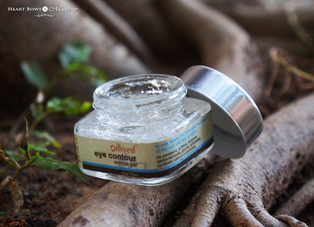 Omved Eye Contour Rescue Gel Review: Best Under Eye Gel in India