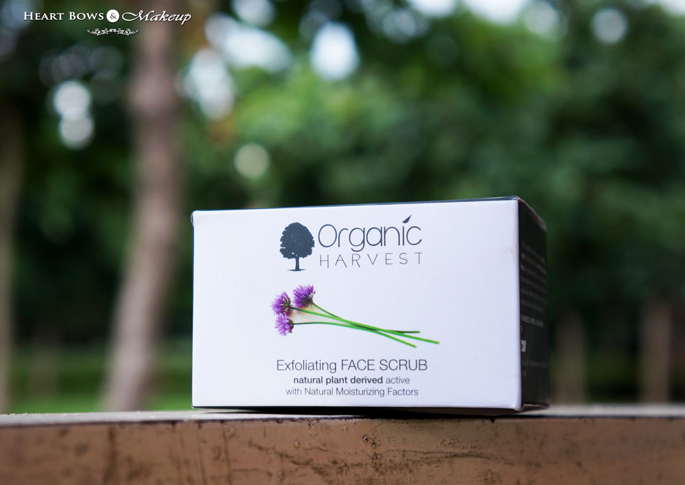 Organic Harvest Exfoliating Scrub Review & Price