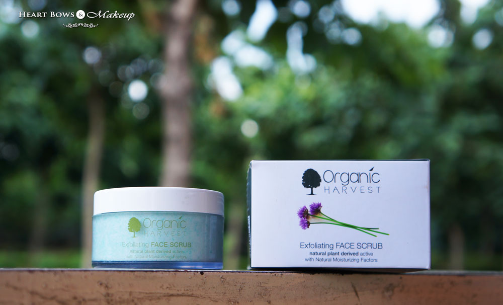 Organic Harvest Exfoliating Scrub Review, Price & Buy Online India