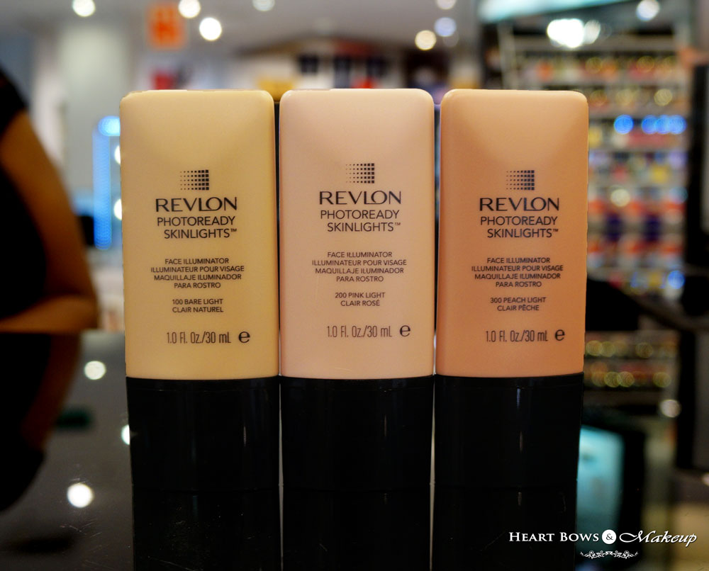 revlon photoready skinlights face illuminator swatches