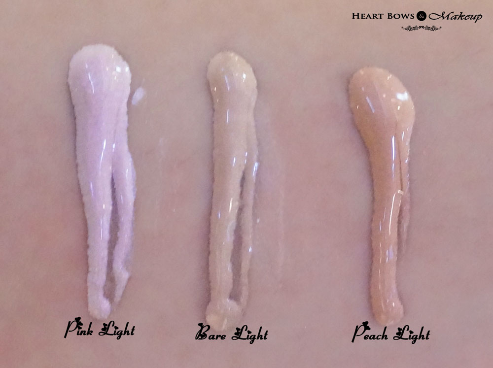 Revlon Photoready Skinlights Illuminator Review & Swatches: Pink Light, Bare Light & Peach Light