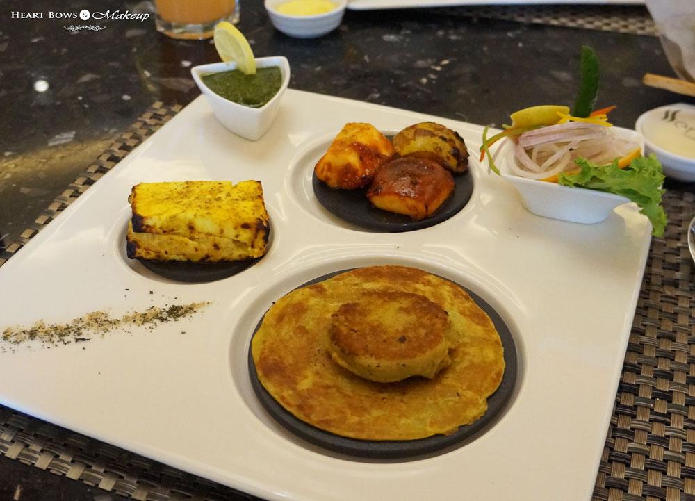 Ssence Restaurant Review: Subz Galouti Kebab, Paneer Tikka & Phaldari Chat